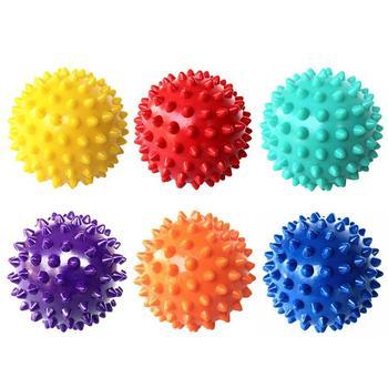 Kolczasta piłka do masażu Trigger Point dłoni, stóp ulgę w bólu mięśni zrelaksować piłkę