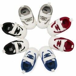حذاء للأطفال موضة 0-12 متر حذاء مشاية للأطفال الصغار من الجلد الصناعي الناعم سوليد فاتنة للبنات حذاء رياضي للأولاد حديثي الولادة