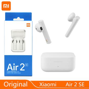 Oryginalny Xiaomi Air 2 SE TWS Sport bezprzewodowe słuchawki Bluetooth Xiaomi Air 2SE Bass słuchawki douszne AirDots 2 AirDots S MI sterowanie dotykowe tanie i dobre opinie Dynamiczny CN (pochodzenie) Prawdziwie bezprzewodowe Do kafejki internetowej Słuchawki do monitora Do gier wideo Zwykłe słuchawki