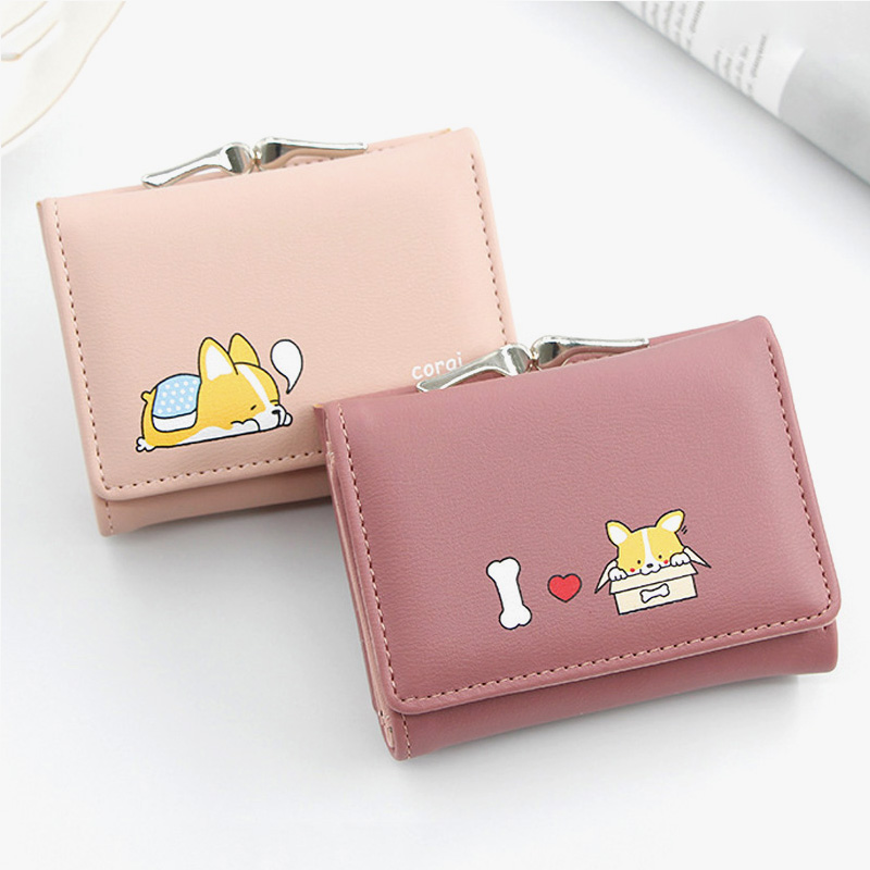 Small and Compact Cutest Ever Puppy Print Wonder Wallet Lots of Pockets