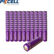 100pcs/lot Wholesale PKCELL ER14505 Lithium Battery AA Size 3.6V 2400mAh LiSOCl2 Single Use Batteries LR6 R6P