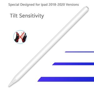 Стилус совместим с Apple iPad, iPad Pencil без задержек, высокая точность, наклон, отказ от ладони, для выпуска 2018 или более поздней версии