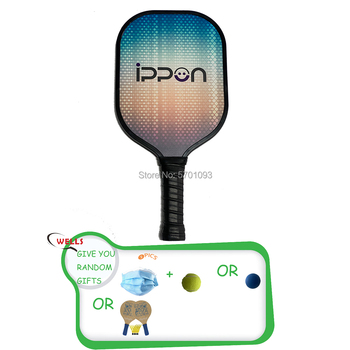 Pickle ball Paddle 2020 high quality USAPA approved Graphite Face Honeycomb Core Graphite Pickleball Paddle image