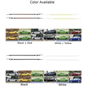 2pcs Auto Car Body Side Stripe