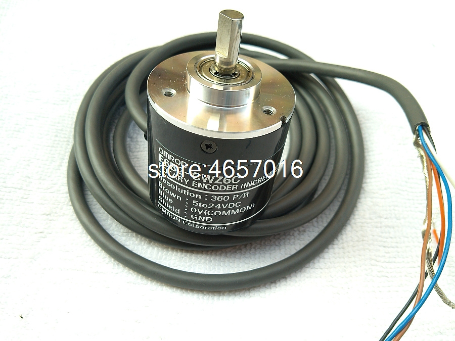 OMRON E6B2-CWZ6C E6B2CWZ6C 1000P//R Rotary Encoder New in Box Free Ship