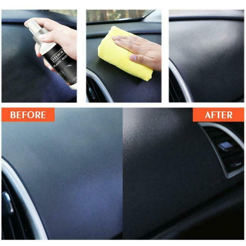 Car Plastic and Trim Restorer