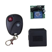 цена на OCDAY Relay DC 12V 7A 1CH wireless RF Remote Control Switch Transmitter+ Receiver For Access/door Control System