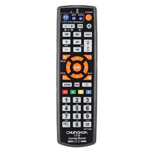 Image 4 - Универсальный умный ИК пульт дистанционного управления IR с функцией обучения для ТВ CBL DVD SAT коробка Hi Fi CHUNGHOP Оригинал L336 3in1