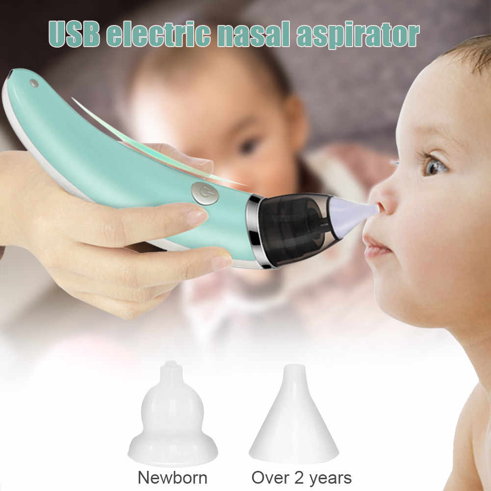 Electric Baby Nasal Aspirator Snot Sucker Nose Mucus Boogies Vacuum Cleaner#