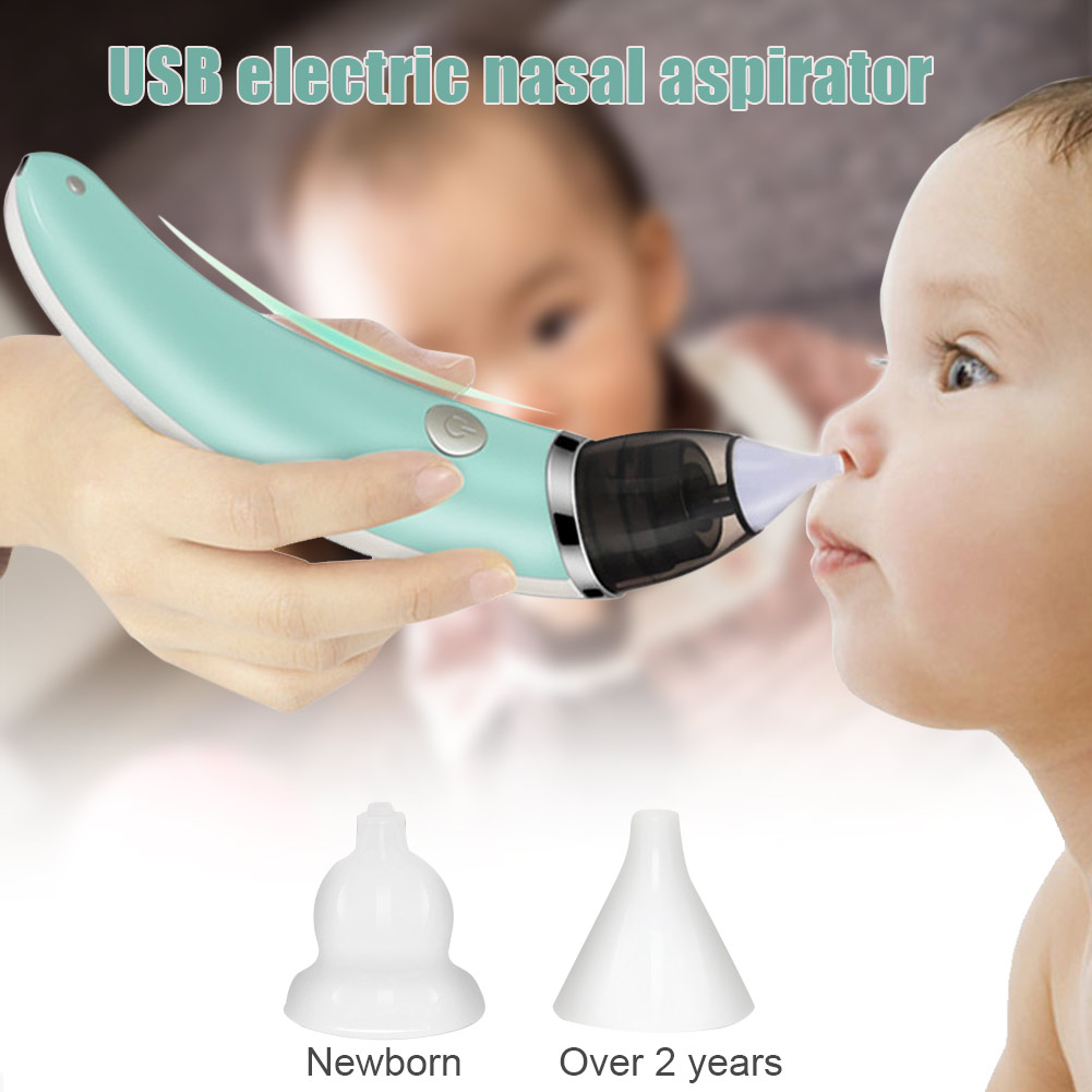 Electric Baby Nasal Aspirator Snot Sucker Nose Mucus Boogies Vacuum Cleaner For Infant Kids AN88