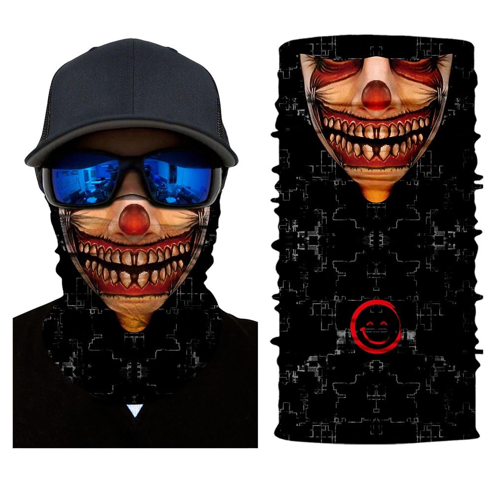 Мотоциклетная крутая маска «Череп» шарф лыжный сноуборд велосипед мотоцикл лицо защитный шлем шеи Теплая уличная велосипедная маска - Цвет: 9