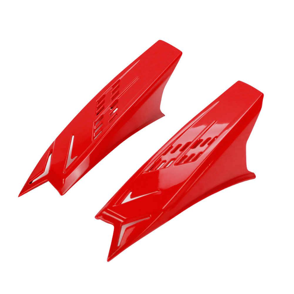 2pcs Freddo Cattura Vista Dirt Moto Facile Da Installare Forte Adesivo Decor Da Corsa Orecchio Accessori di Modifica del Casco Corno