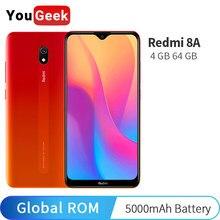 Global Rom Xiaomi Redmi 8A 8 4GB 64GB teléfono móvil Snapdragon 439 Octa Core 6,22