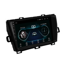 Link Android-System-Ram Gps Wifi Toyota 16GB Radio Mirror for Prius 1GB-ROM Car-Stereo