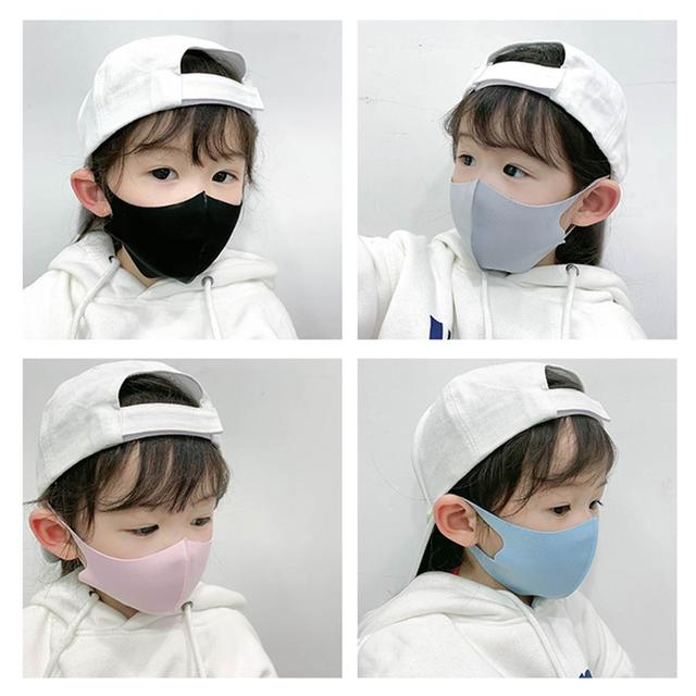 Kids Outdoor Cycling Anti Dust Haze Sponge Mouth Face Mask Respirator Masks Kids Dust Mask Windproof Facial Mask Sports Anti-fog 3