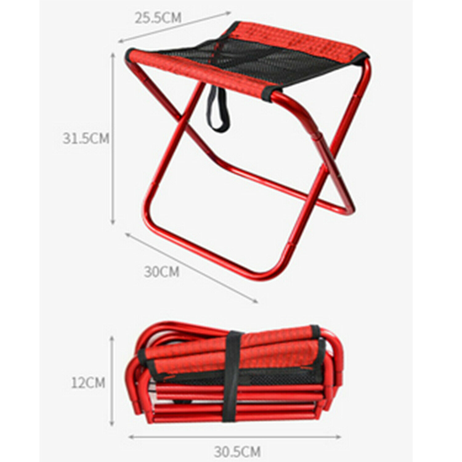 Portable Folding Step Caravan Camping Stool  Accessories Ladder Stool Camper