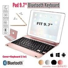 Ipad Pro 9,7 планшетный компьютер Bluetooth клавиатура Air 2 Беспроводная Bluetooth откидная клавиатура