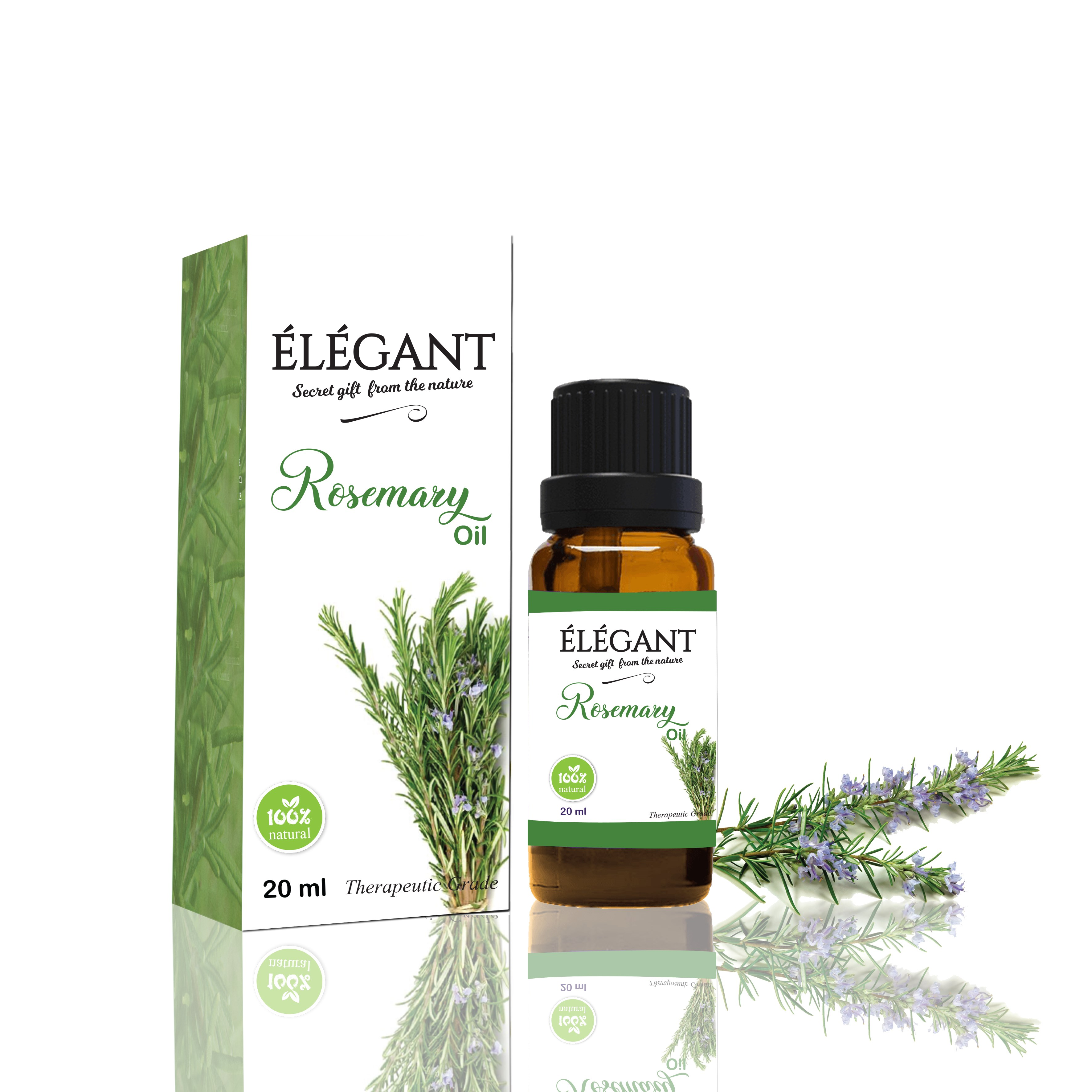 Rosemary Oil (Rosmarinus Officinalis)