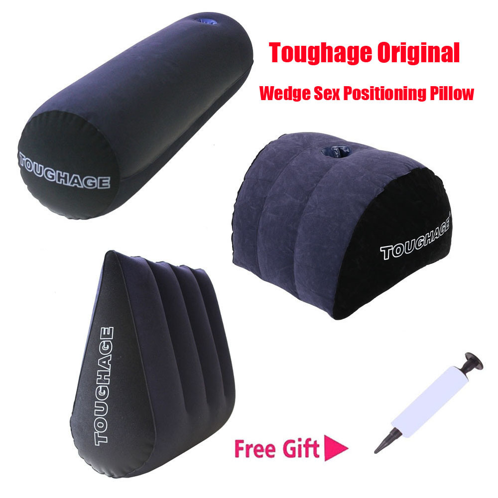 Секс-игрушки для пар Toughage, оригинальная Подушка-Клин, подушка для позиционирования секса, мебельная конструкция с насосом