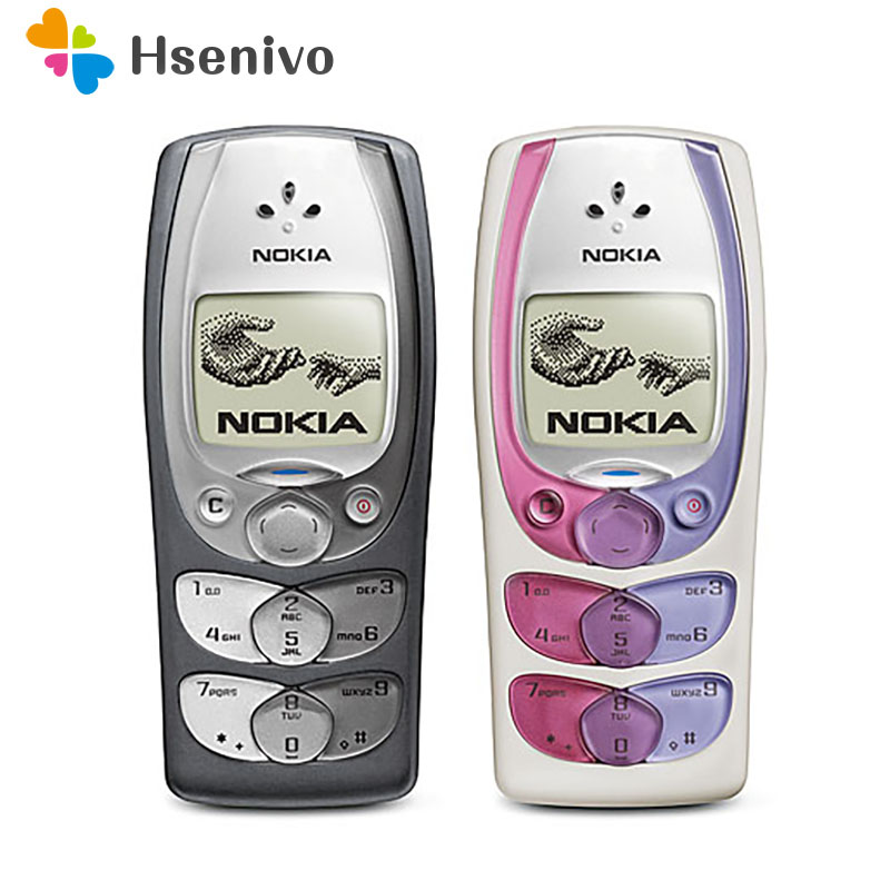 100% Original Unlocked Nokia 2300 Mobile Phone Refurbished Unlocked Cellphones free shipping