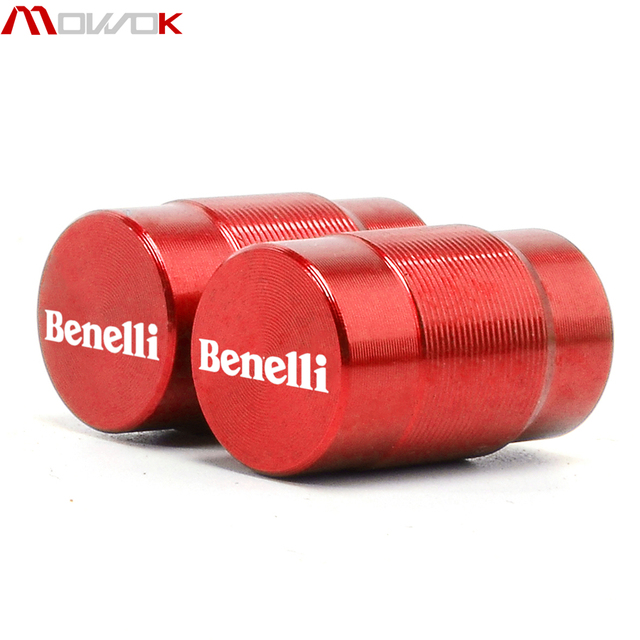 Para BENELLI 502C 752S TRK 502/X 251 León 500/250/TRAIL BN302 TNT 125 300 600 tapa de la válvula del neumático de la rueda del CNC