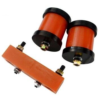 Polyurethan Motor Motor & Übertragung Halterungen Kit für NISSAN S13 S14 240SX KA24 SR20-in Block & Teile aus Kraftfahrzeuge und Motorräder bei
