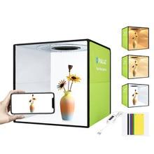 Folding Portable Lightbox Photography Softbox Photo Studio Box For DSLR Camera Light Box Photobox With 6 Backdrops Shooting Kits