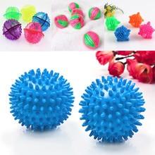 4 формы бытовой шарик для стирки, анти-намотка, уход за тканью, Очищающий мяч, мягкий пластик, домашняя стиральная машина, мяч для сухого белья