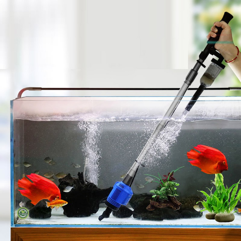 Portable Sand Washer Water Change Filter Household Automatic Electric Toilet Bowl For Cleaning Fish Bowl Water Pump Fish Tank Filters Accessories Aliexpress