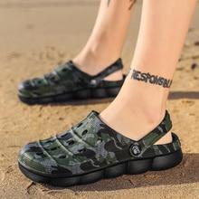 Coslony Crocse Crocks Men Pool Sandals Summer beach Outdoor Shoes men Slip On Garden Clogs Casual Wa