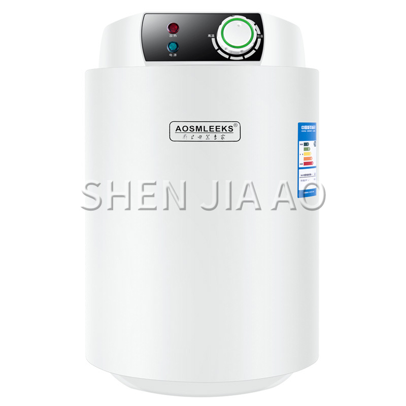 Electric Water Heaters Household Kitchen/Bathroom Storage Type Water Heaters Metal Body 12L Automatic Control Temperature