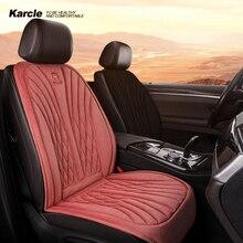 Karcle 자동차 좌석 커버 자동차 좌석 난방 패드 온수 자동차 좌석 쿠션 자동차 좌석 히터 패드 자동차 보호 커버 자동차 부품