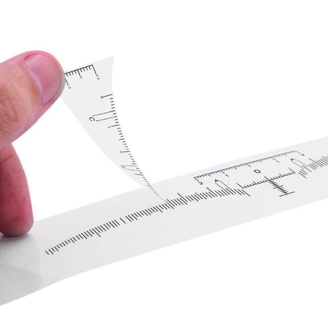 10pcs Eyebrow Stencil Microblading Tattoo Semi Permanent Stencil Template Model Makeup Measure 3