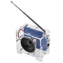 Diy zestaw radiowy zestaw do produkcji radia elektroniczny zestaw do transmisji cyfrowej części Fm Radio cyfrowe
