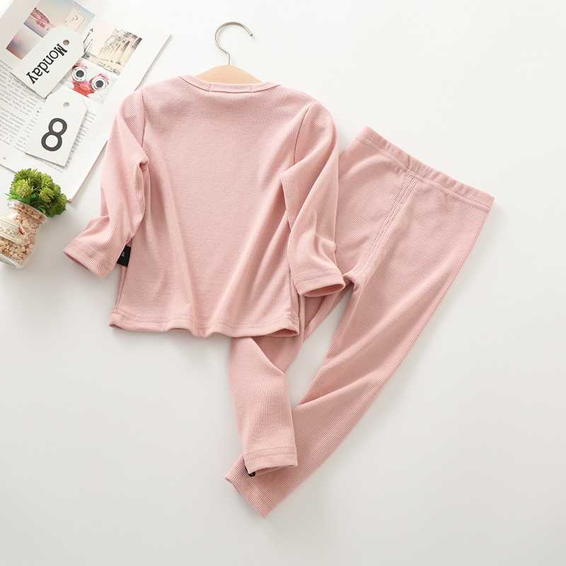 New Fashion Baby Girl pajamas For Kids Boys Children Clothes Autumn Winter Toddler Set Pink Soft Comfortable Long sleeve 7 Years (11)