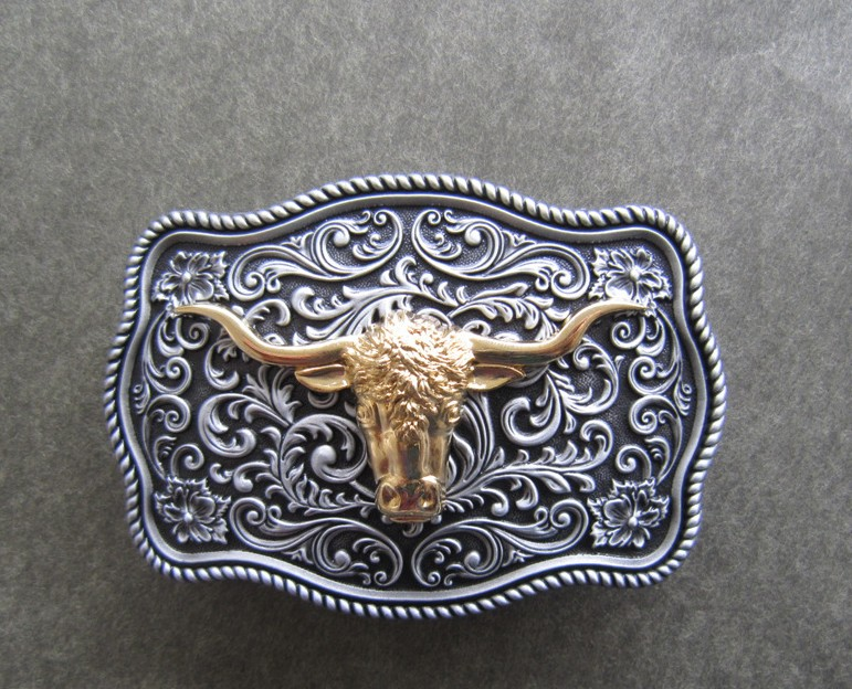 Gold-plated Handicrafts Belt Buckle