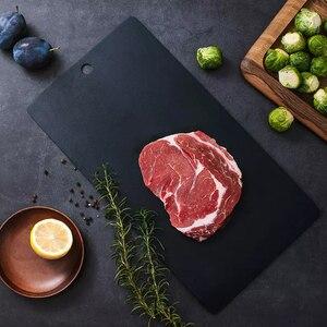 Image 5 - Huohou מהיר הפשרה מגש הפשרה קפוא מזון בשר פירות מהיר הפשרה צלחת לוח להפשיר מטבח גאדג ט כלי