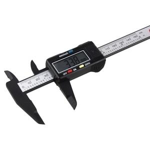 Image 4 - חם הדיגיטלי LCD מיקרומטר Vernier Caliper 150mm/6 אינץ אלקטרוני Vernier מחוגה רכב תיקון כלי caliper YHQ