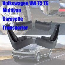 For Volkswagen VW Multivan Caravelle Transporter T6 T5 mudguards Accessories Mud Flaps auto fenders Splash Guards car mudflaps