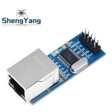 Shengyang mini enc28j60 ethernet lan módulo de rede para arduino 51 avr spi pic stm32 lpc atacado