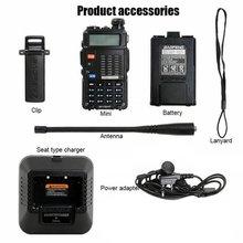Walkie Talkie BaoFeng F8HP Dual-Band 136-174/400-520 MHz FM
