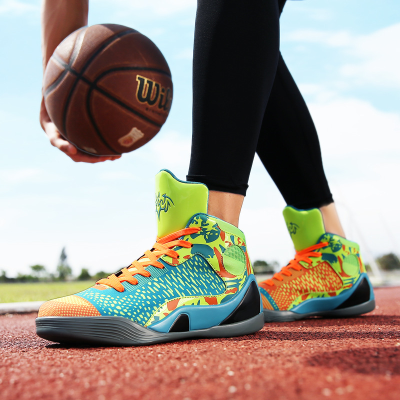 high top breathable basketball shoes men outdoor sport shoes basket ball training shoes boys students sneakers men zapatillas