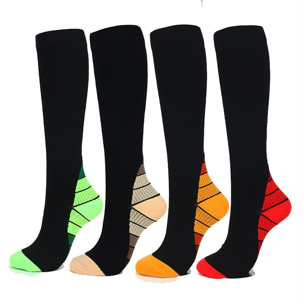 Anti Slip Seamless Cycling Socks Integral Moulding High-tech Bike Sock Compression Bicycle Outdoor Running Sport Socks