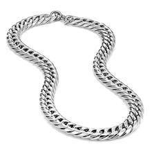 Цепочка Из Нержавеющей Стали 316l для мужчин ожерелье с широким
