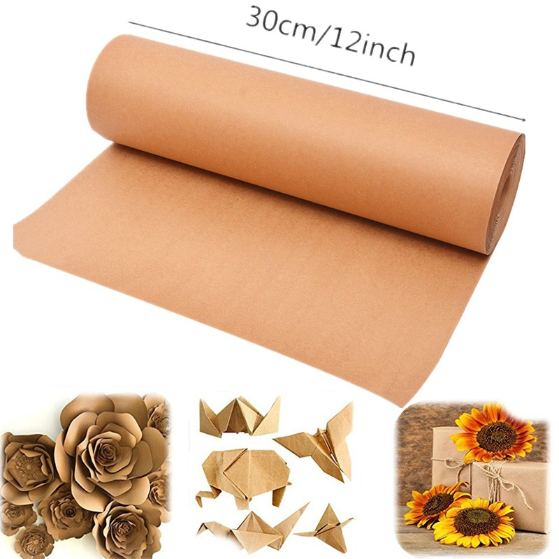 12inch Brown Kraft Origami Paper Roll