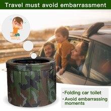 Urinals Portable Toilet Bao-De-Emergencia Non-Disposable Adults Kids Camping Eco-Friendly
