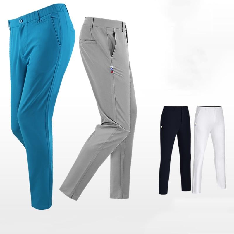 New Golf Trousers 2019 Mens Pants Waist Elastics Slim Fit PGM Golf Apparel Outdoor Sports Shorts 1
