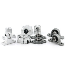 Rodamientos – bloc d'oreiller en alliage de Zinc, 2 pièces, diamètre 8mm, 10mm, 12mm, alésage, roulement à billes, Support monté, Kp08, Kp000, Kp001, KP003