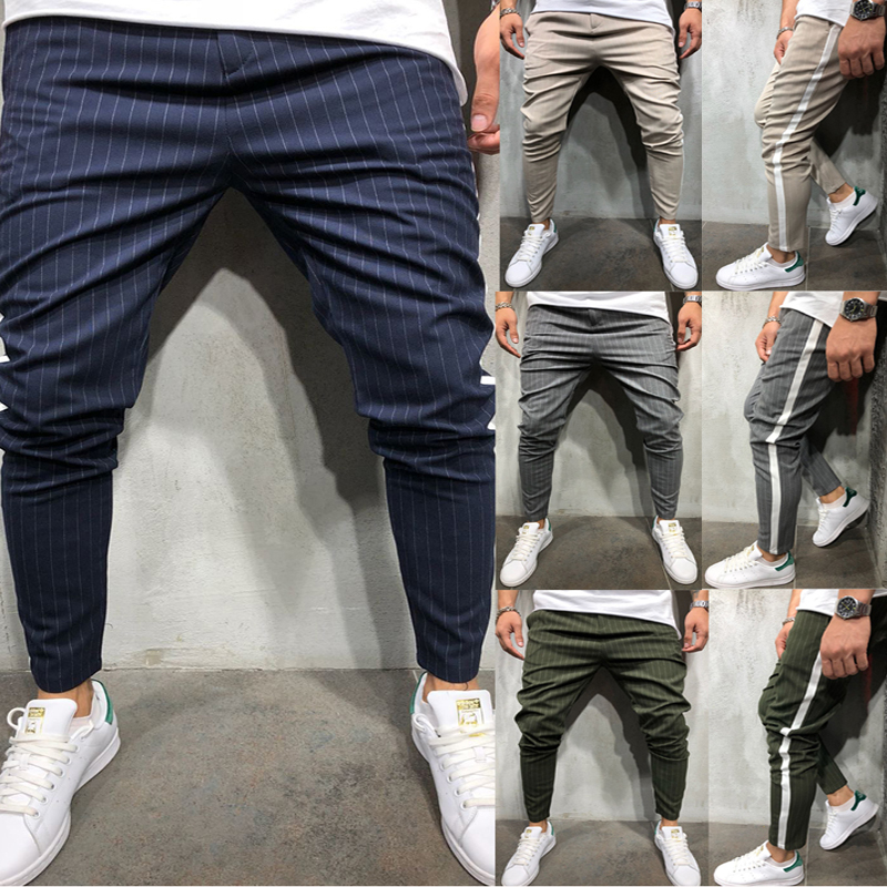 H6335701473324dda842bf759a34770abU Spring Autumn Casual Men Sweat Pants Male Sportswear Casual Trousers Straight Pants Hip Hop High Street Trousers Pants Joggers