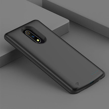 For Oppo Realme X 6500mAh Battery Charger Case Extended Battery Backup Power Anti-Scratch Shockproof Protective Cover Back Case